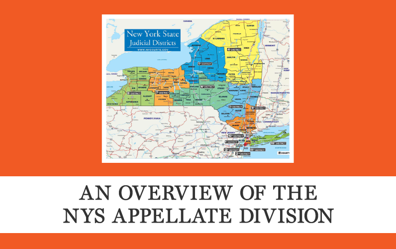 An Overview of the NYS Appellate Division