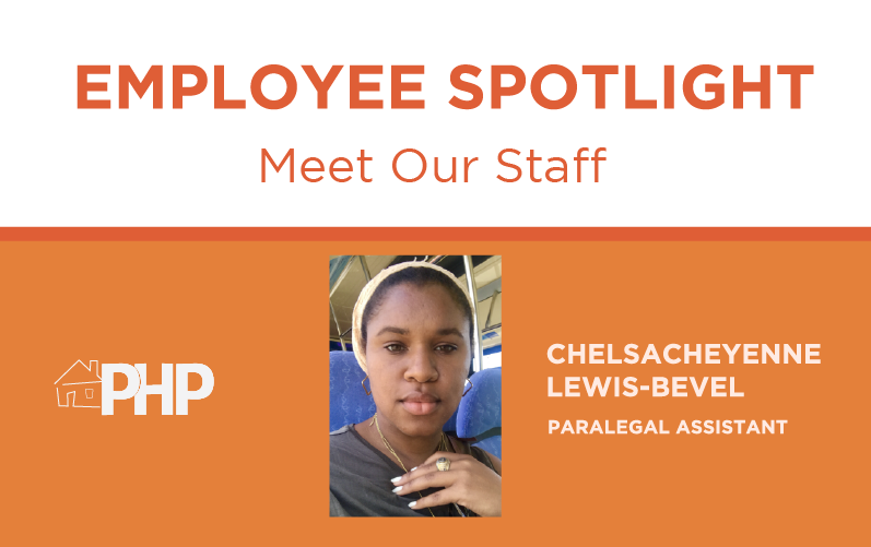 Employee Spotlight – Meet ChelsaCheyenne Lewis-Bevel