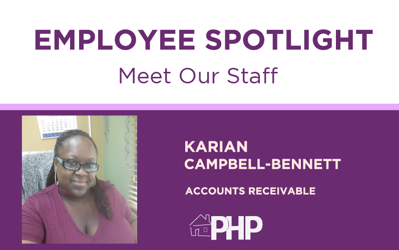 Employee Spotlight – Meet Karian Campbell-Bennett