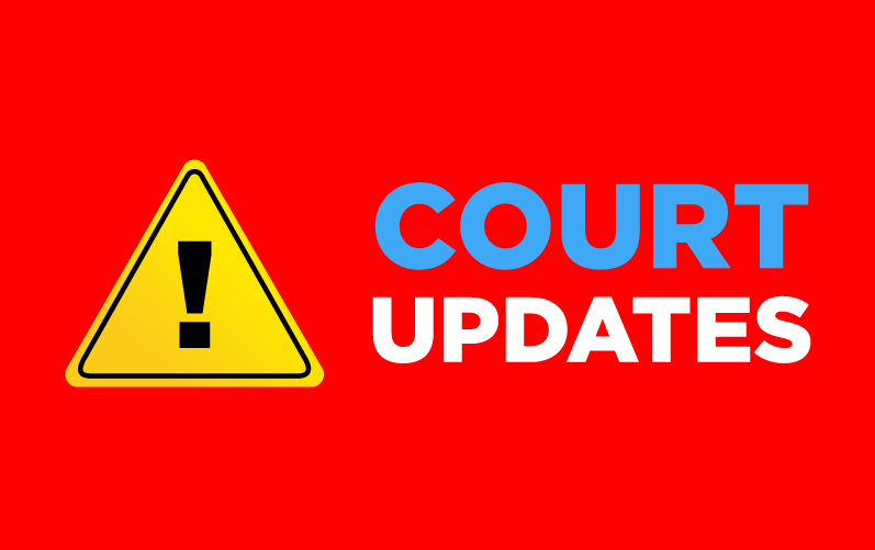 Court Updates: AD1 and AD2