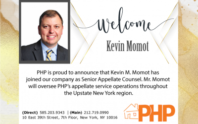 PHP Welcomes Kevin M. Momot!